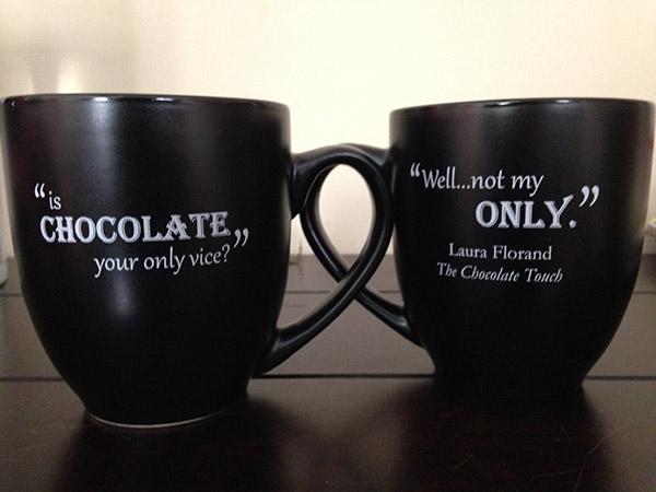 Chocolate Cup Giveaway And Brainstorming
