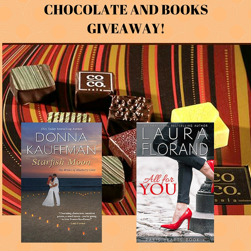 CHOCOLATE AND BOOKS GIVEAWAY!